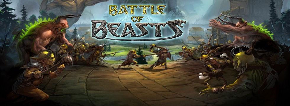 Darmowa Gra Battle of Beasts. Zostañ w³adc¹ najdzikszych z bestii!
