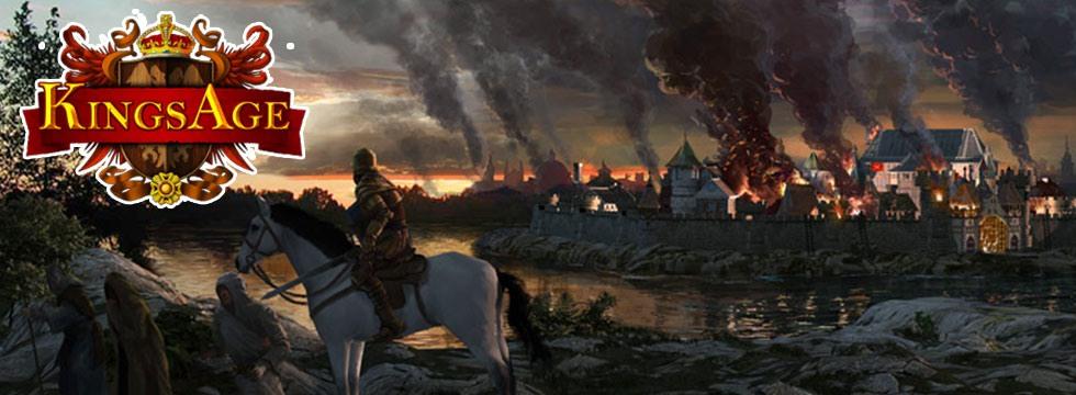Darmowa Gra KingsAge. DoprowadŸ swoje królestwo do s³awy i dobrobytu!