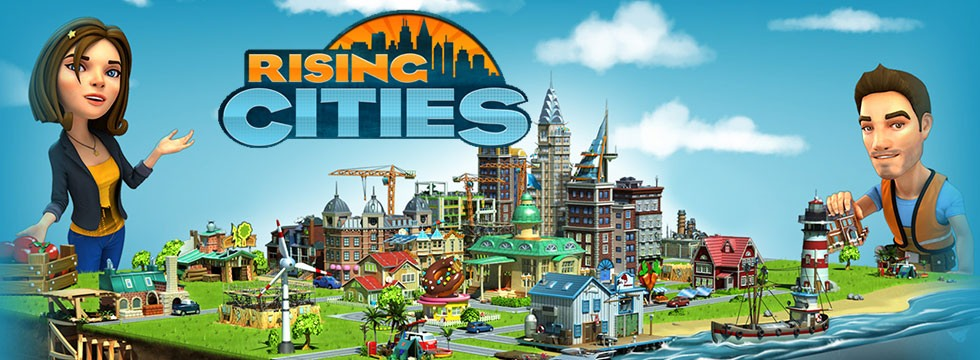Darmowa Gra Rising Cities. Zarz¹dzaj miastem, by poprowadziæ je ku œwietlanej przysz³oœci