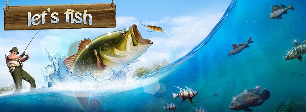 Darmowa Gra Let's Fish. Zostañ wêdkarzem i z³ów je wszystkie!