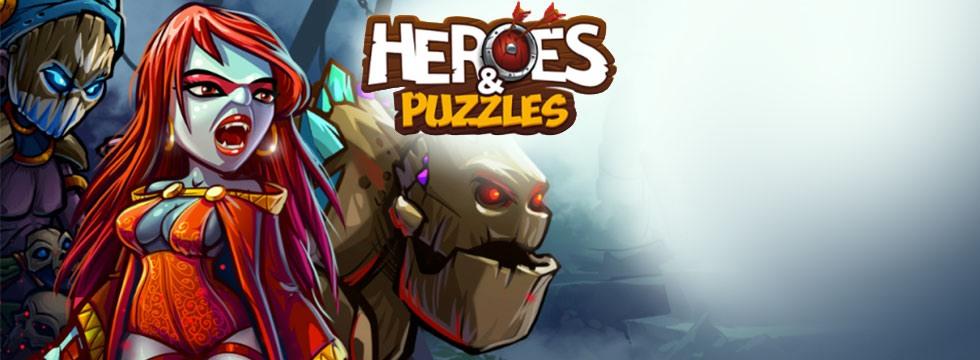 Darmowa Gra Heroes and Puzzles. Logiczna gra RPG dostêpna na urz¹dzenia mobilne!