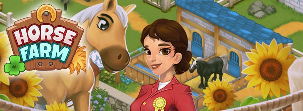 Darmowa Gra Horse Farm. Zaprojektuj stadninê koni i w³asny oœrodek jeŸdziecki!