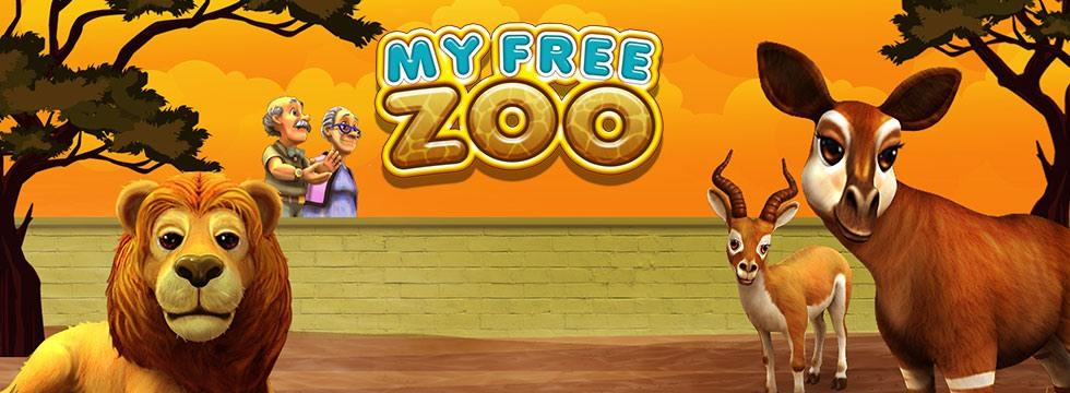 Darmowa Gra My Free Zoo. Zostañ menad¿erem w³asnego ZOO w grze mobilnej!