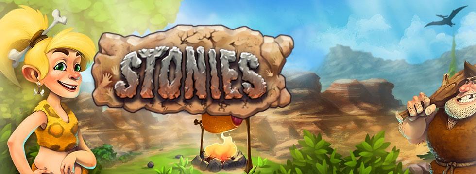 Darmowa Gra Stonies. Stonies – Zostañ przywódc¹ w epoce kamienia!