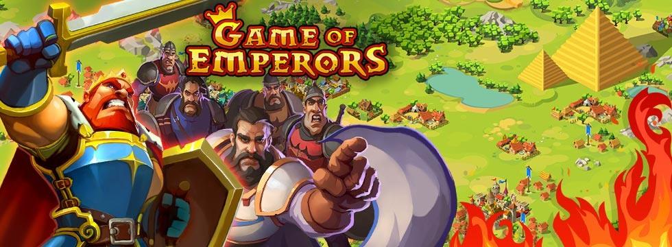 Darmowa Gra Game Of Emperors. Zostañ cesarzem i walcz o podbój œwiata!
