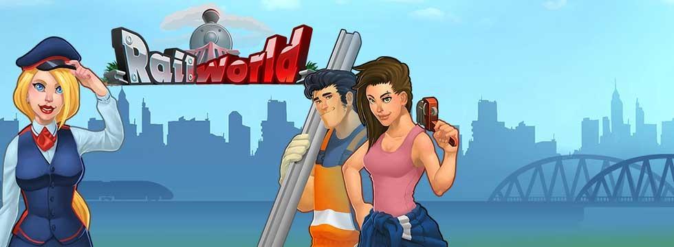 Darmowa Gra Rail World. Stwórz swoje kolejowe imperium w grze mobilnej!
