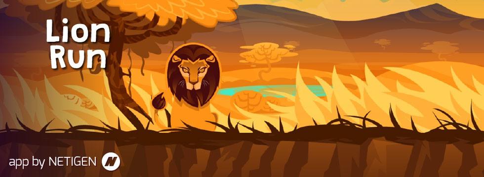 Darmowa Gra Lion Run. Zrêcznoœciowa gra akcji z lwem w roli g³ównej!