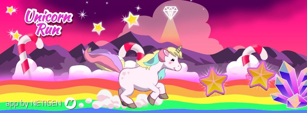 Darmowa Gra Unicorn Run. Kolorowy runner z dzielnym jednoro¿cem!