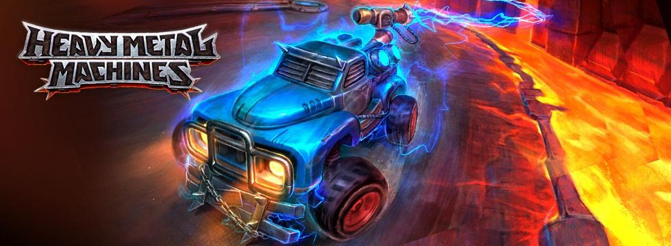 Darmowa Gra Heavy Metal Machines. Wkrocz na arenê szalonych walk samochodowych!