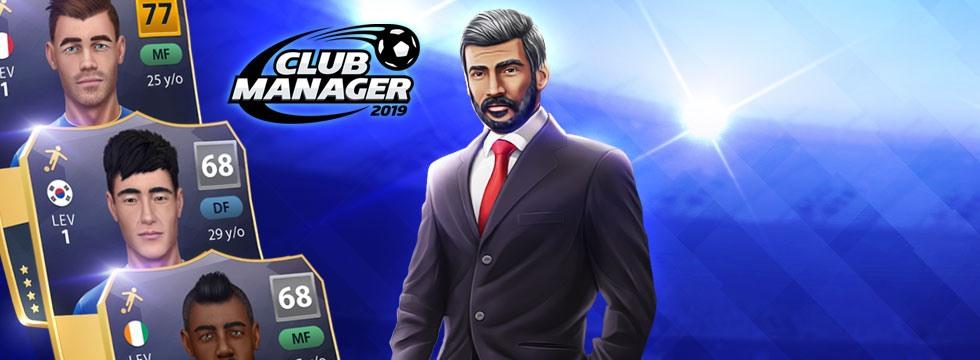 Darmowa Gra Club Manager 2019. Rozbudowany manager pi³karski online!