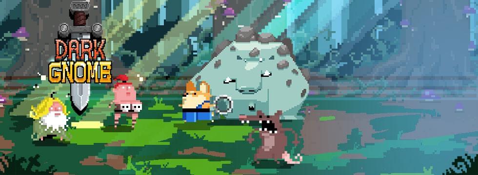 Darmowa Gra Dark Gnome. Pixelowa gra fabularna o bandzie krasnoludów!