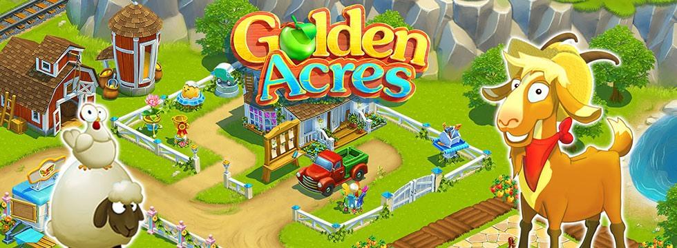 Darmowa Gra Golden Acres. Solidny, farmerski symulator