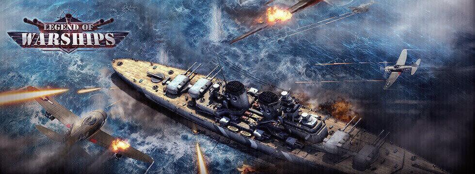 Darmowa Gra Legend of Warships. Zostañ najlepszym z admira³ów wojennej floty