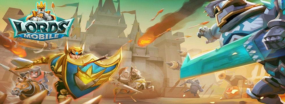 Darmowa Gra Lords Mobile. Stañ do walki w strategicznym fantasy!