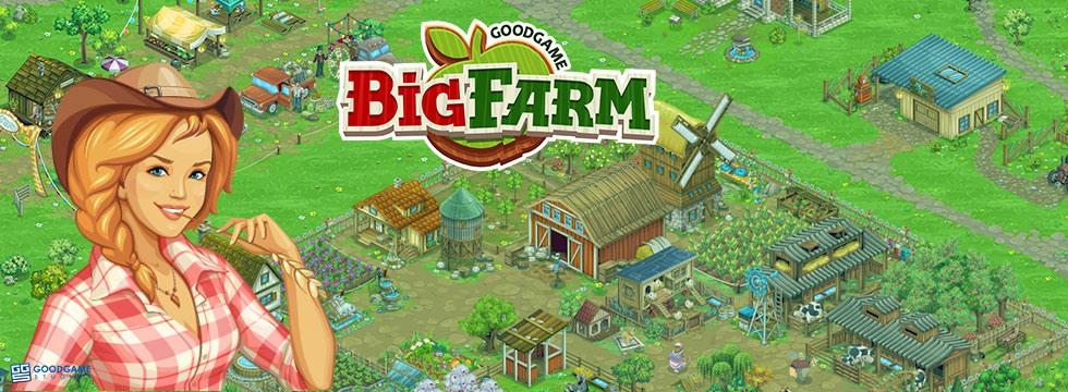 Darmowa Gra Big Farm. Zostañ rolniczym potentatem w grze farmerskiej!