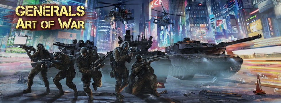 Darmowa Gra Generals Art of War. Futurystyczny city builder