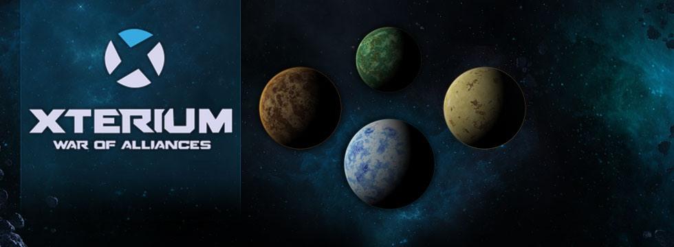 Darmowa Gra Xterium. Ekonomiczny symulator science fiction