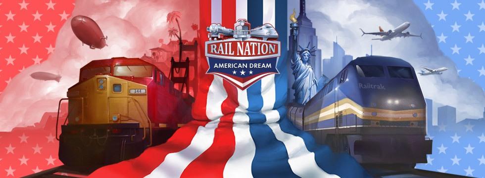 Darmowa Gra Rail Nation. Rail Nation - u¿yj kodu AMERICAN-DREAM i odbierz nagrody!