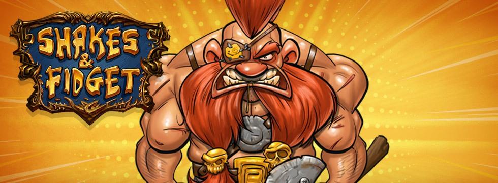 Darmowa Gra Shakes & Fidget. Przegl¹darkowa gra RPG z potê¿n¹ dawk¹ humoru!