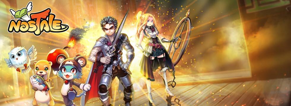 Darmowa Gra Nostale. Fascynuj¹ca gra RPG w stylu anime!