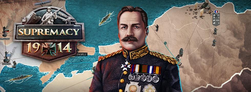 Darmowa Gra Supremacy 1914. Zmieñ historiê I Wojny Œwiatowej!