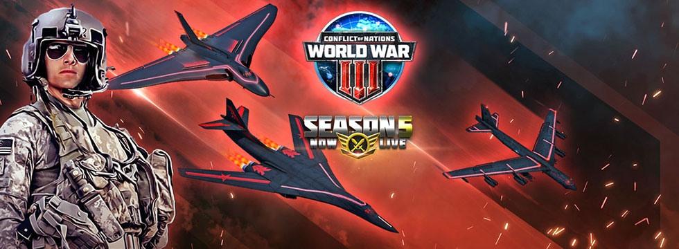 Darmowa Gra Conflict of Nations. Conflict of Nations: Wygraj III Wojnê Œwiatow¹! Sezon 5 rozpoczêty!