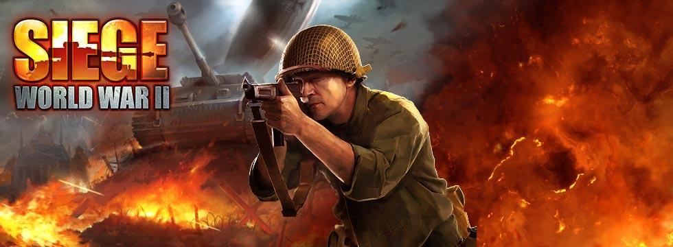 Darmowa Gra Siege: World War II. Gra dla mi³oœników II wojny œwiatowej, obmyœlania strategii oraz kolekcjonowania kart.