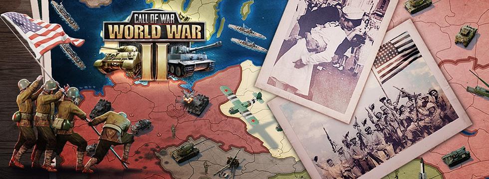 Darmowa Gra Call of War. Wygraj II wojnê œwiatow¹! Do³¹cz do eventu Victory Day!