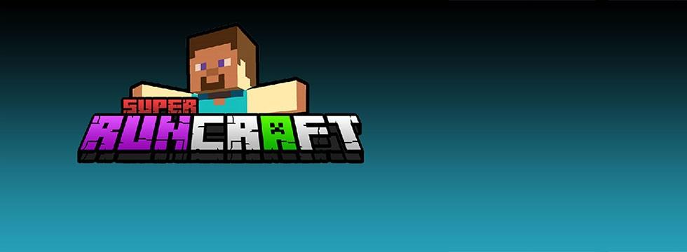 Darmowa Gra Super Runcraft. Minecraftowy endless runner