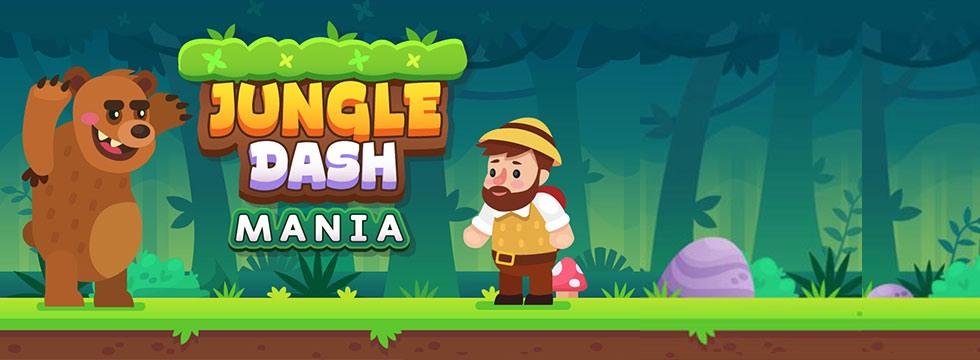 Darmowa Gra Jungle Dash Mania. Zrêcznoœciowa platformówka od Gamedistribution