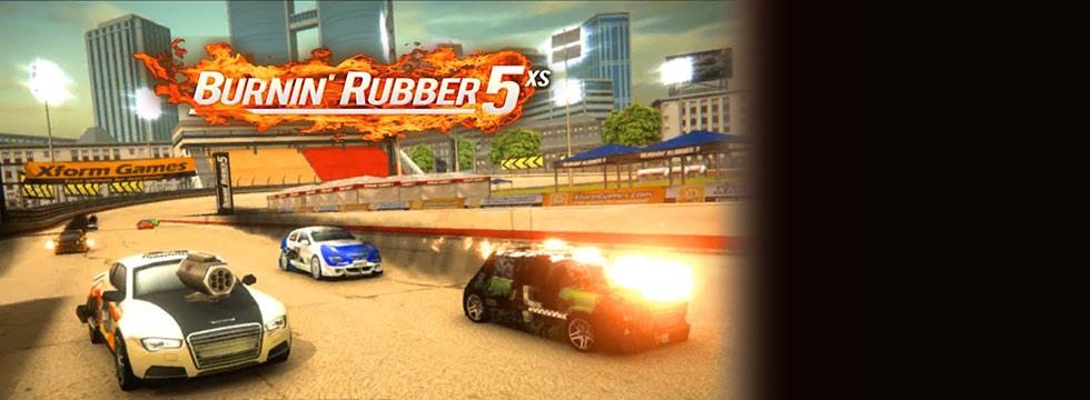 Darmowa Gra Burning Rubber 5 XS. Brutalne wyœcigi samochodowe, w których wszystkie chwyty sa dozwolone!