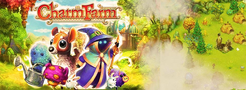 Darmowa Gra Charm Farm. Farmerska gra w œwiecie magii
