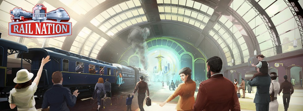 Darmowa Gra Rail Nation. Do³¹cz do eventu Platform X!