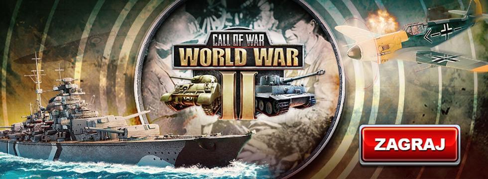 Darmowa Gra Call of War. Wygraj II wojnê œwiatow¹.