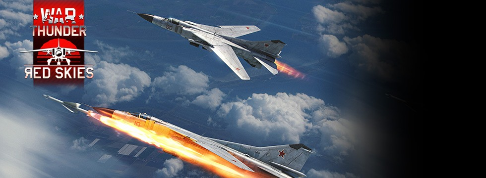 Darmowa Gra War Thunder. WeŸ udzia³ w wielkich bitwach i walcz z graczami z ca³ego œwiata! Update Red Skies!